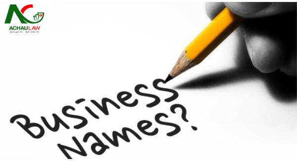 Lưu ý về chữ số trong tên doanh nghiệp