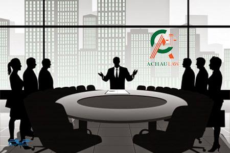 Hình thức họp và thông qua nghị quyết của đại hội đồng cổ đông