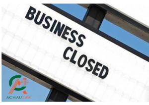 Hồ sơ giải thể doanh nghiệp tư nhân gồm những giấy tờ gì?